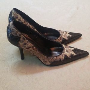 GORGEOUS DONALD J PLINER COUTURE COY PUMPS SIZE 8